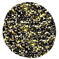 Golden Nuggets Glitter Polish